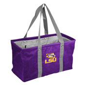 LSU Crosshatch Picnic Caddy