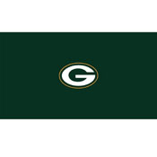 Green Bay Packers 8-Foot Billiard Cloth