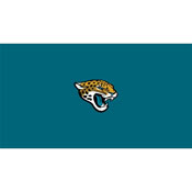 Jacksonville Jaguars 8-Foot Billiard Cloth