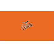 Baltimore Orioles 8' Pool Table Cloth