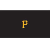 Pittsburgh Pirates 8' Pool Table Cloth