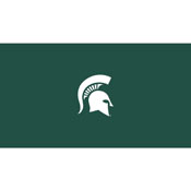Michigan State 8' Pool Table Cloth