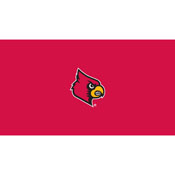 University of Louisville 8' Pool Table Cloth