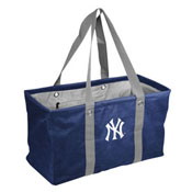NY Yankees Crosshatch Picnic Caddy