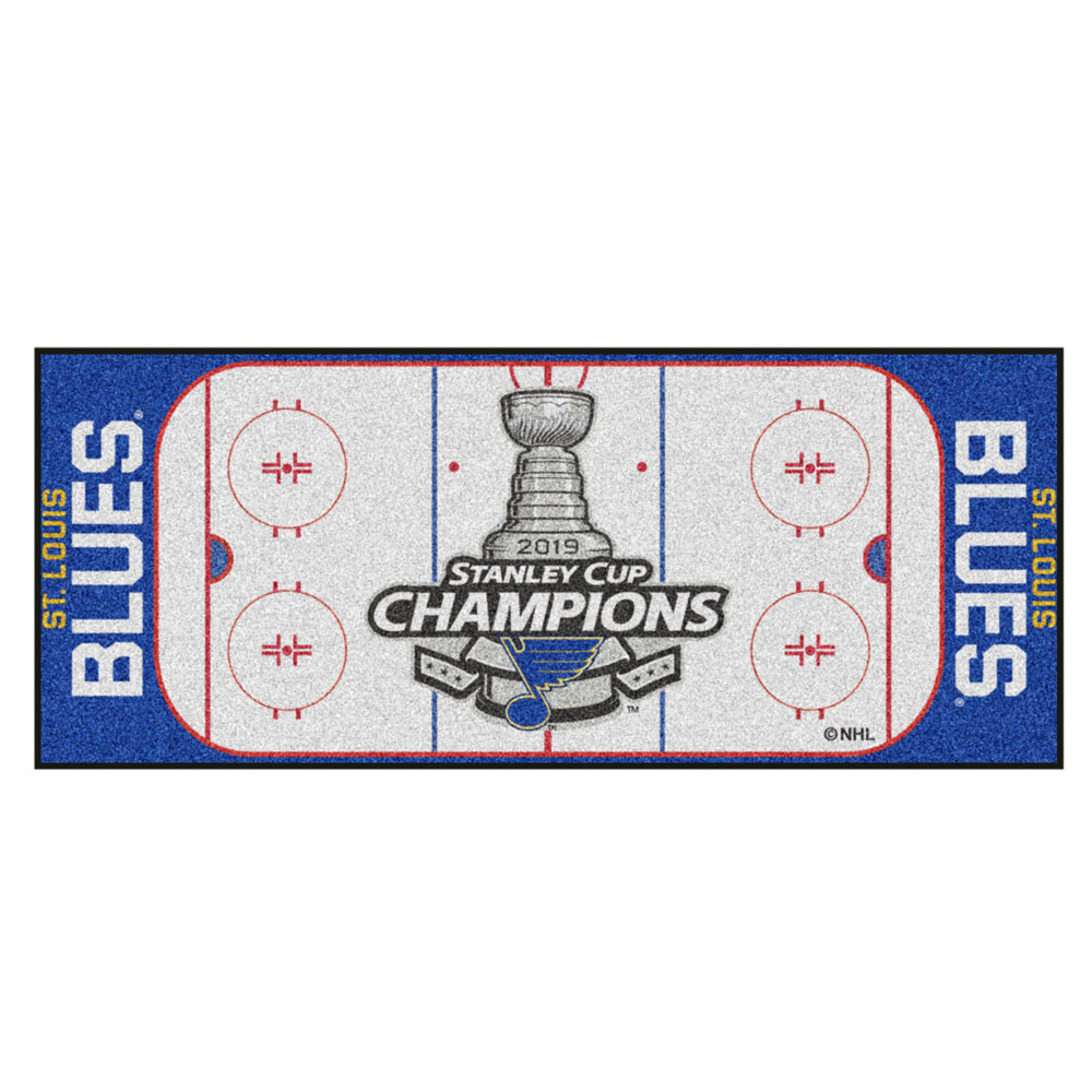 Nhl St Louis Blues 2019 Stanley Cup Champions Rink