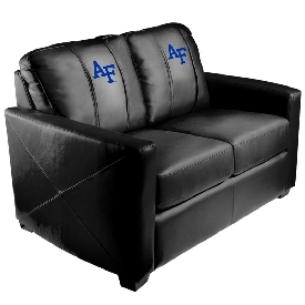 Collegiate Silver Love Seat - Air Force Falcons