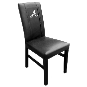 MLB Side Chair 2000 with Secondary Logo Panel - Atlanta Braves