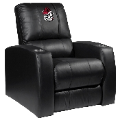 Pinstripe Bulldog Head Relax Recliner - University of Georgia