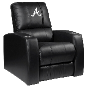 MLB Relax Recliner with Secondary Logo Panel - Atlanta Braves