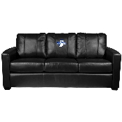 Collegiate Silver Sofa with secondary logo - Indiana State Sycamores