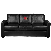 Collegiate Silver Sofa - Louisville Cardinals