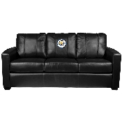 Silver Sofa with FC Logo - Manchester City