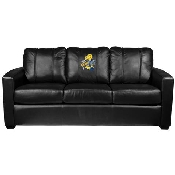 NBA Silver Sofa with 2018 Champions Logo Panel - Golden State Warriors