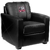 Collegiate Silver Chair with Elephant logo - Alabama Crimson Tide