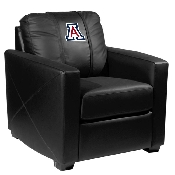 Collegiate Silver Chair - Arizona Wildcats