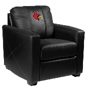 Collegiate Silver Chair - Louisville Cardinals