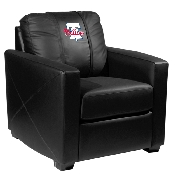 MLB Silver Chair with Primary Logo - Philadelphia Phillies