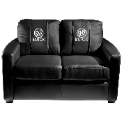 Silver Loveseat with Buick Logo