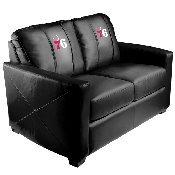 NBA Silver Love Seat with Primary Logo Panel - Philadelphia 76ers