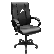 MLB Office Chair 1000 with Secondary Logo Panel - Atlanta Braves