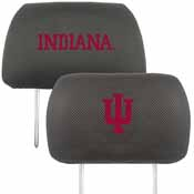 Indiana University Head Rest Cover 10