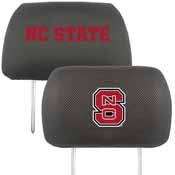 NC State Head Rest Cover 10x13