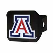 University of Arizona Color Hitch Black 3.4x4