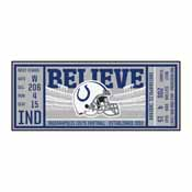 NFL - Indianapolis Colts Ticket Runner 30x72