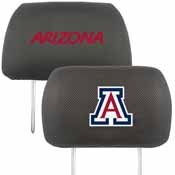 University of Arizona Head Rest Cover 10
