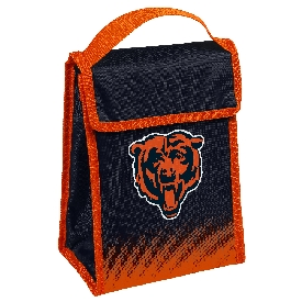 NFL Insulated Lunch Bag w/ Velcro Closure Chicago Bears