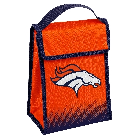 NFL Insulated Lunch Bag w/ Velcro Closure Denver Broncos