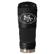 18 Oz. Stainless Steel Stealth Tumbler San Francisco 49Ers