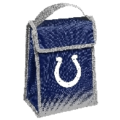 NFL Insulated Lunch Bag w/ Velcro Closure Indianapolis Colts