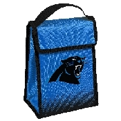 NFL Insulated Lunch Bag w/ Velcro Closure Carolina Panthers