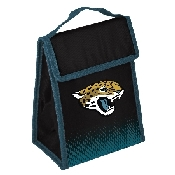 NFL Insulated Lunch Bag w/ Velcro Closure Jacksonville Jaguars