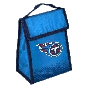 NFL Insulated Lunch Bag w/ Velcro Closure Tennessee Titans