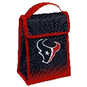 NFL Insulated Lunch Bag w/ Velcro Closure Houston Texans
