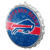 NFL Bottle Cap Sign - Buffalo Bills