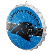 NFL Bottle Cap Sign - Carolina Panthers
