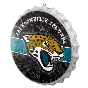 NFL Bottle Cap Sign - Jacksonville Jaguars