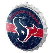 NFL Bottle Cap Sign - Houston Texans