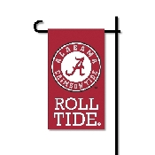 Mini Garden Flag w/ Pole with Alabama Crimson Tide Collegiate