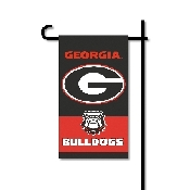Mini Garden Flag w/ Pole with Georgia Bulldogs Collegiate