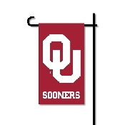 Mini Garden Flag w/ Pole with Oklahoma Sooners Collegiate