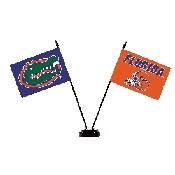 Collegiate Florida Gators 2 Flag Desk Set