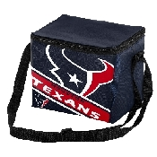 Houston Texans NFL 6-Pack Cooler/Lunch Box