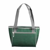 Plain Hunter Crosshatch 16 Can Cooler Tote