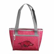 Arkansas Crosshatch 16 Can Cooler Tote