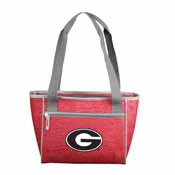 Georgia Crosshatch 16 Can Cooler Tote