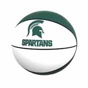 MI State Official-Size Autograph Basketball Green